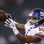 Giants' running backs, wide receivers face tough...