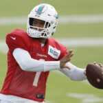 Tua Tagovailoa is lighting it up at Dolphins...