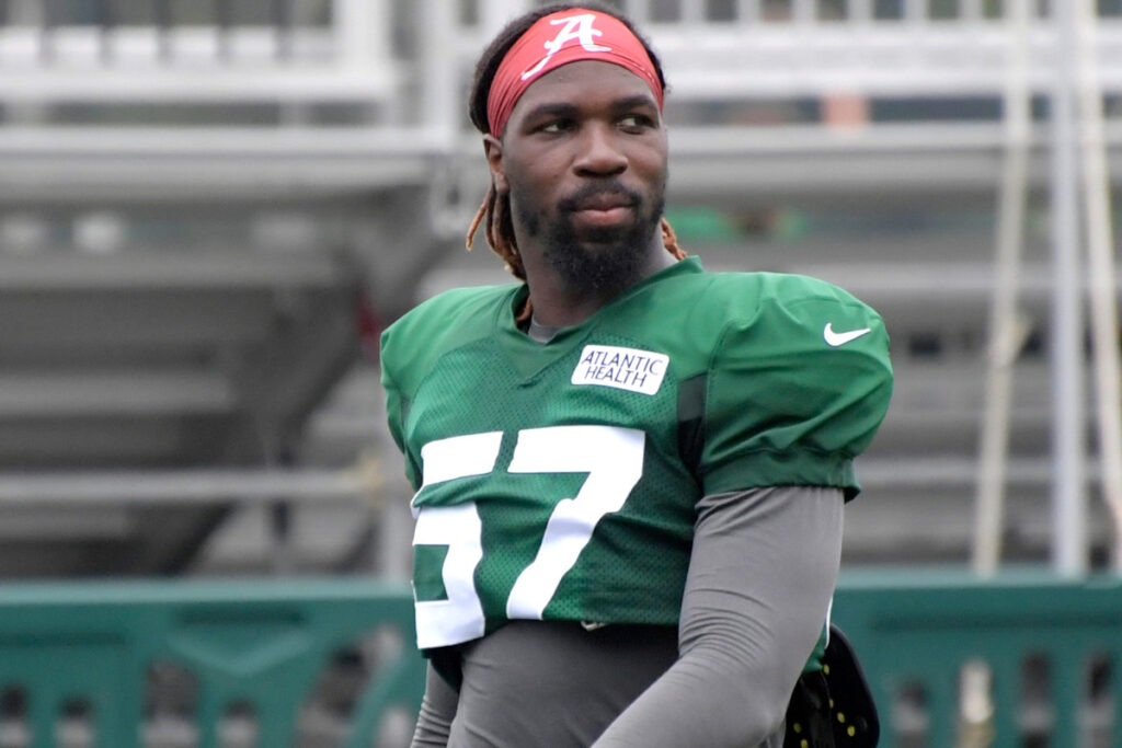 Jets' C.J. Mosley explains why he opted out of...