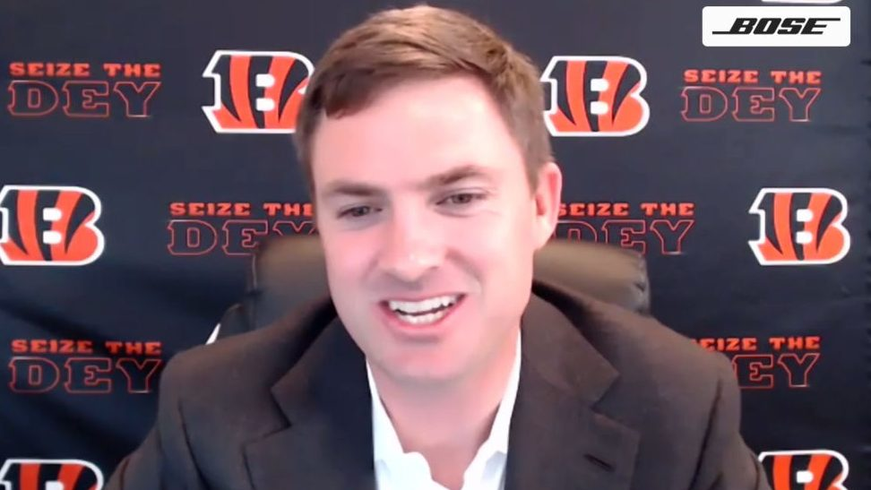 Bengals holding remote meetings with their...