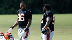 Carlos Dunlap thought Bengals response to George...
