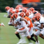 Bengals march to National Underground Railroad...