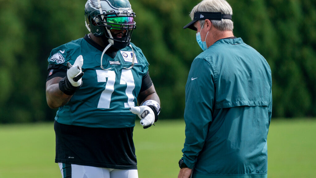Jason Peters looking for a raise if he makes the...