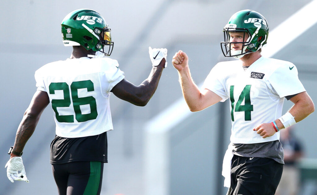 This was familiar, but not normal Jets training...