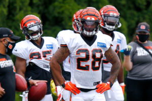 Joe Mixon is out of practice with migraines
