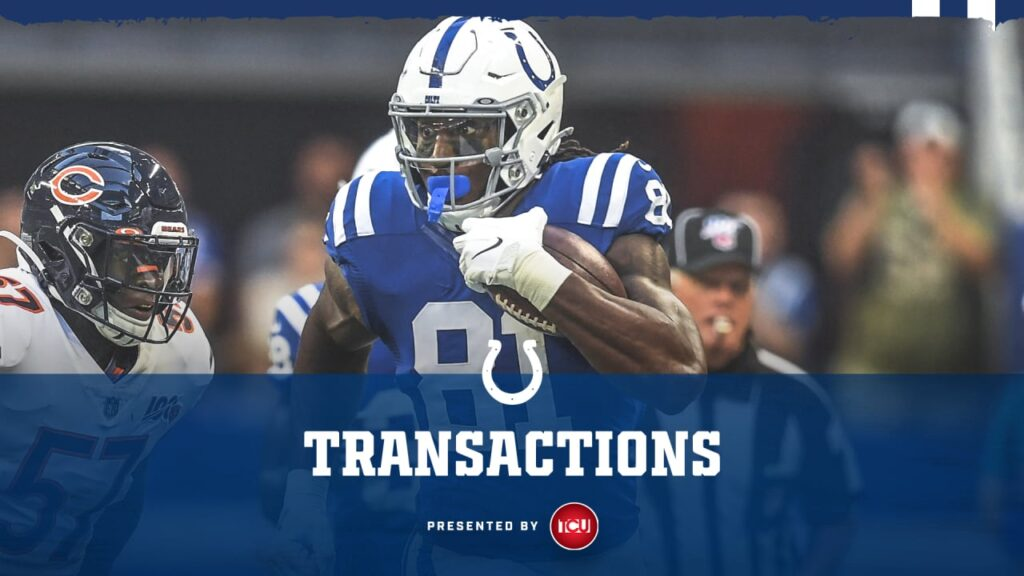The Colts have removed TE Mo Alie-Cox from the...