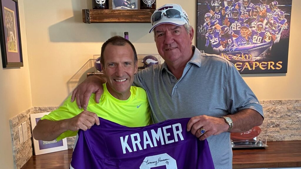 Tommy Kramer Transitions to Day-Maker for Vikings...