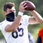Chicago Bears rookie TE Cole Kmet gearing up for...