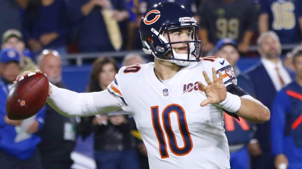 Chicago Bears QB Mitchell Trubisky well-equipped...