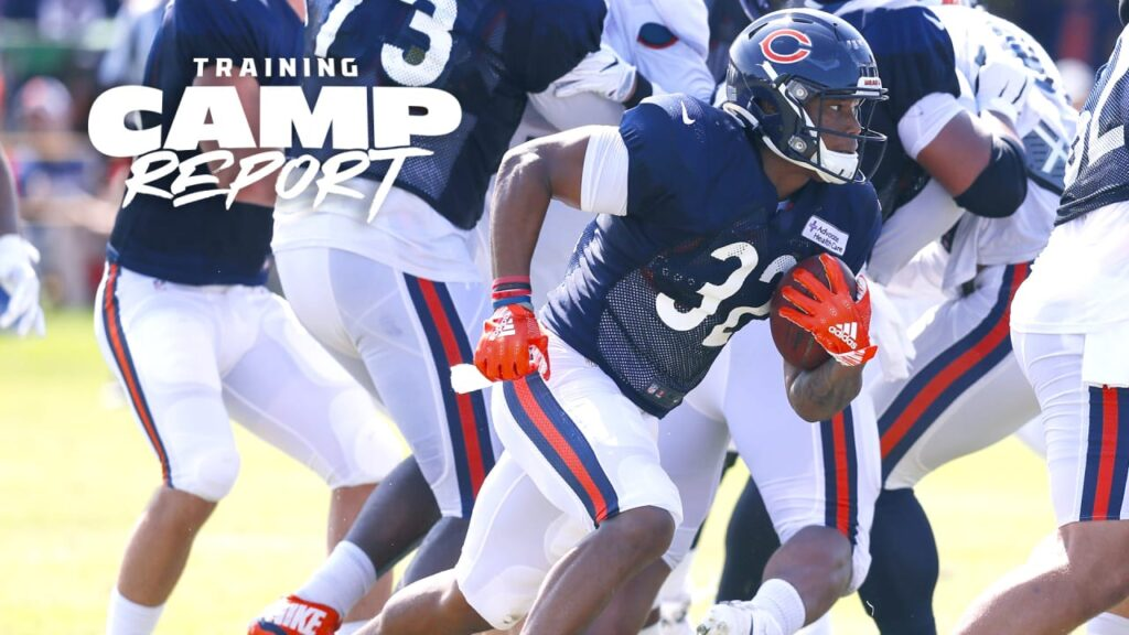 Chicago Bears to practice in pads for first time...