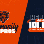 Chicago Bears continue Community All-Pros...