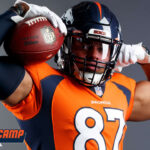 Fant eyes NFL's top tight ends as he sets...