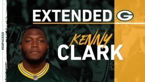 Packers sign DL Kenny Clark to contract extension
