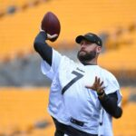 Steelers coach Mike Tomlin - Ben Roethlisberger...