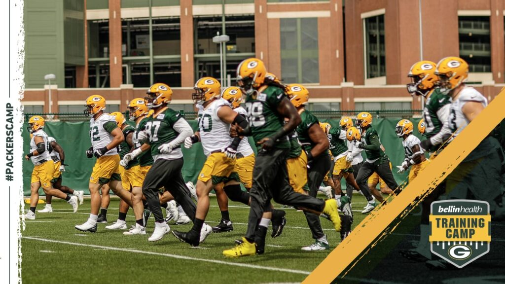 Packers' rookies logging extra time, on and off...