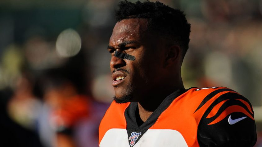 Auden Tate not happy with his role in Cincinnati