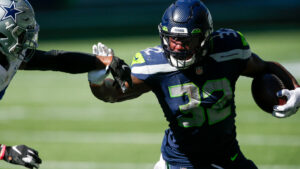 MRI confirms Chris Carson's injury is only a...