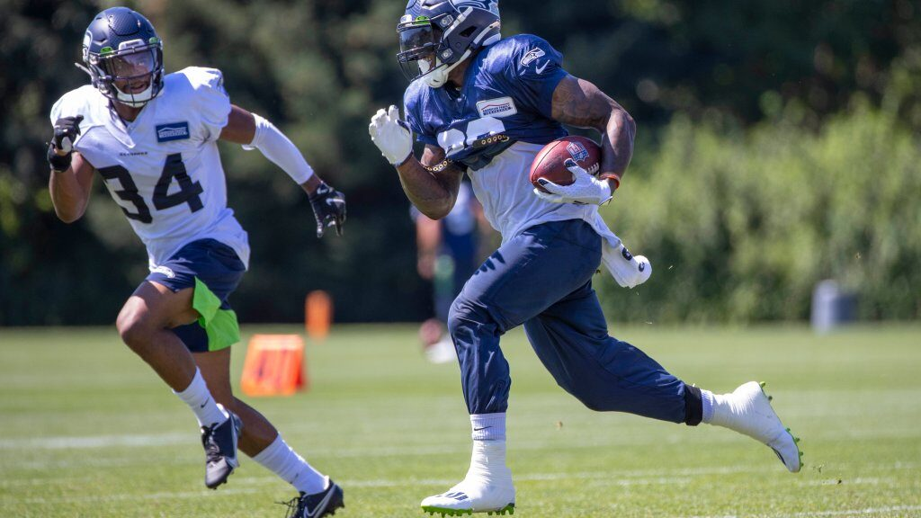 Chris Carson and Seahawks have not had contract...