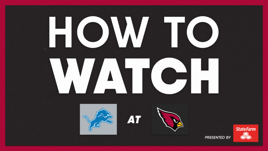 How To Watch Arizona Cardinals vs. Washington...