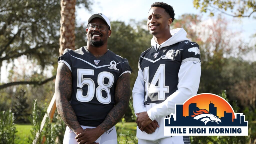 Only two Broncos on ESPN's 2020 NFL Rank, but two...