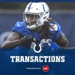 The Colts have elevated WR Daurice Fountain to the...