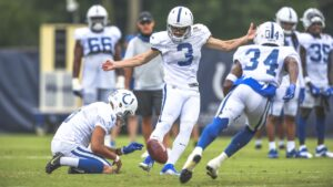 Colts Set To Keep Undrafted Rookie On Week 1...