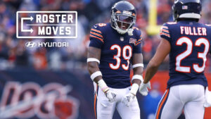 Chicago Bears announce 2020 53-man roster