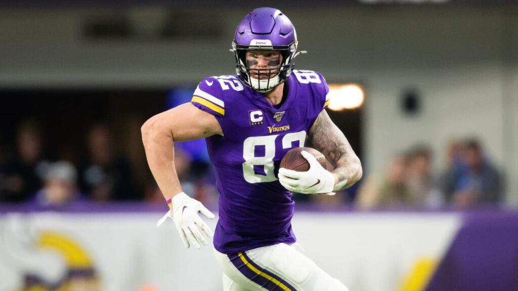 Kyle Rudolph Ready to Extend Starts Streak to 82