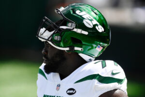 Injured Mekhi Becton unlikely to play for Jets...
