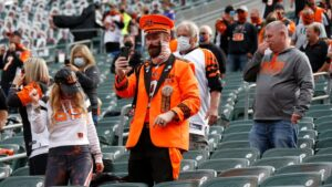 Bengals can have 12,000 fans at upcoming games