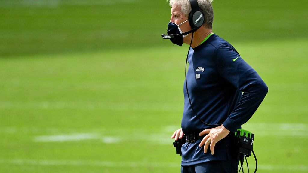 Seahawks coach Pete Carroll recovering from...