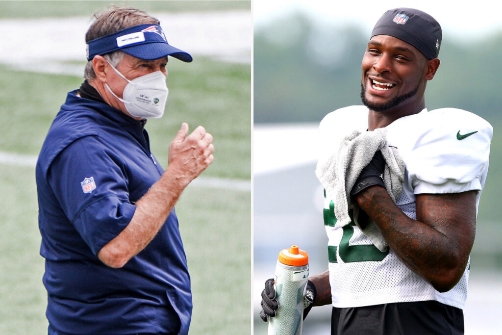 Bill Belichick's crush on Le'Veon Bell suddenly...