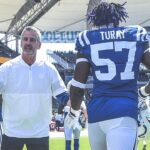 Colts head coach Frank Reich on DE Kemoko Turay's...