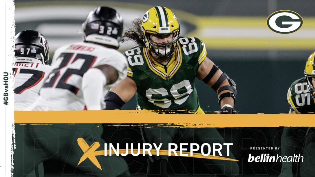 Packers T David Bakhtiari downgraded to OUT for...