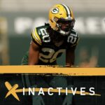 CB Kevin King, RB Tyler Ervin won't play vs....
