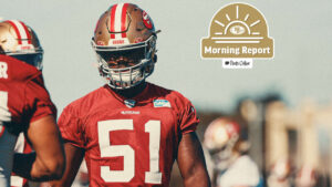 Three 49ers Miss Wednesday's Practice with Ankle...