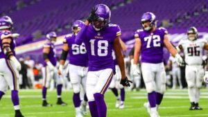 Justin Jefferson Lone Rookie on PFF's Team of the...