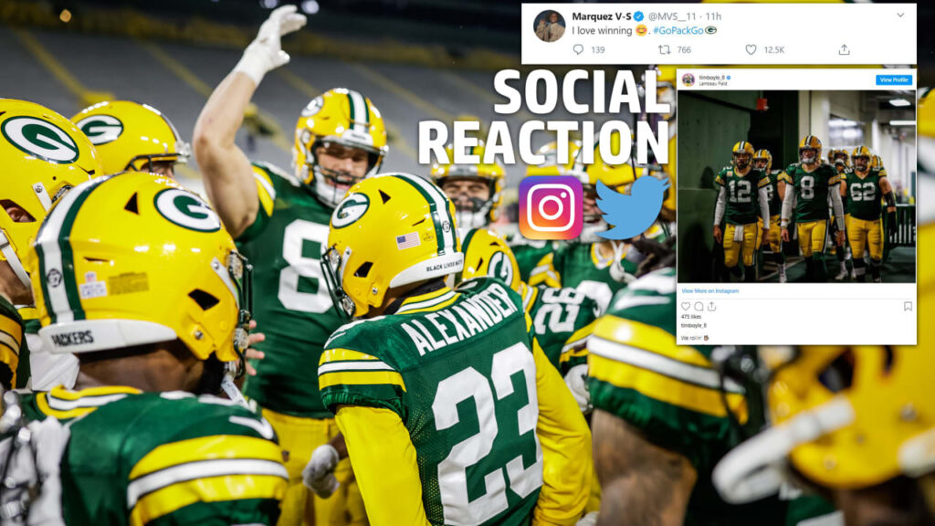 Social Reaction: Packers react to Monday Night...