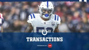 The Colts have signed LB Najee Goode to the...