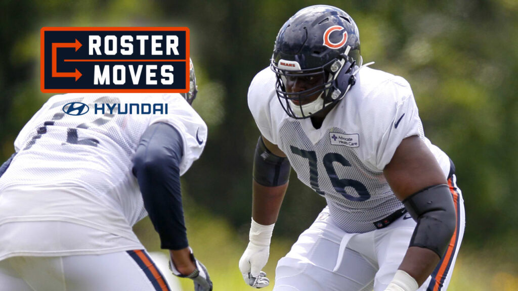 Roster Moves: Bears put Traore on Reserve/COVID-19...