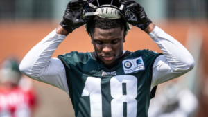 Jalen Reagor on rookie WR's making an impact...