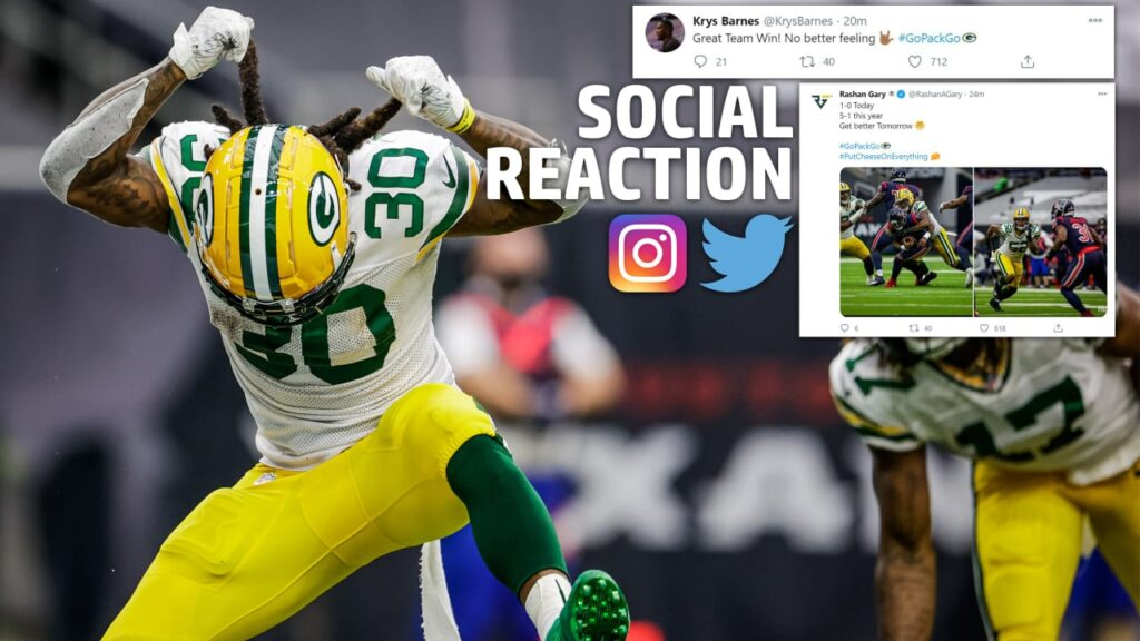 Social Reaction: Packers react to win over Houston