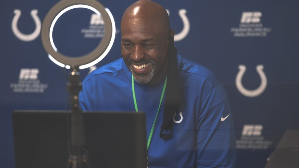 Colts DL coach Brian Baker on giving Tyquan Lewis...