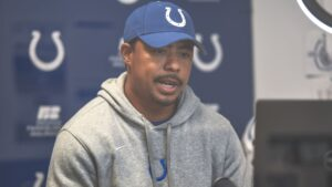 Colts QBs coach Marcus Brady on rookie Jacob...