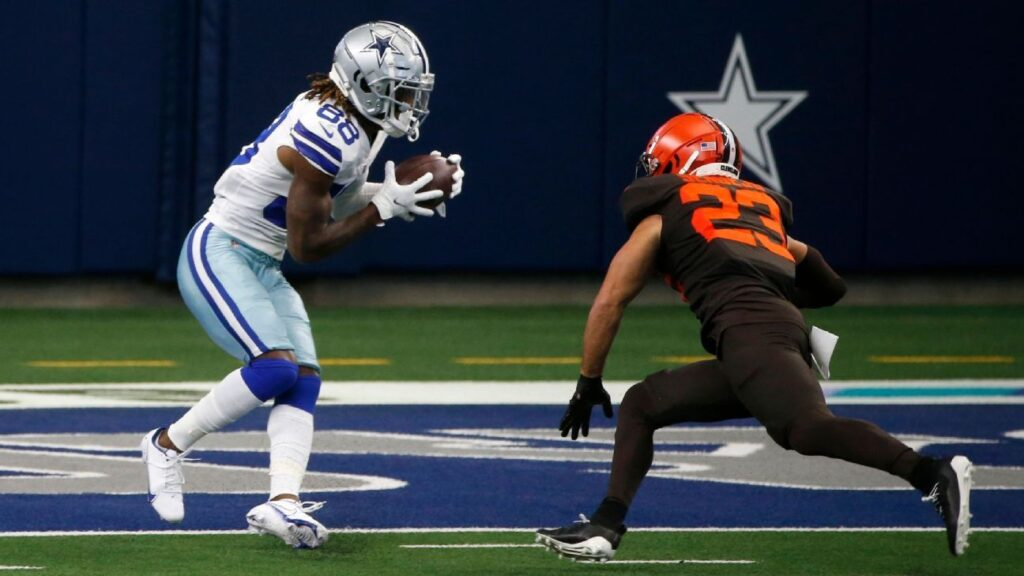 TD for CeeDee! Cowboys rookie Lamb gets first NFL...