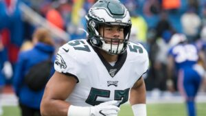 Eagles place T.J. Edwards and Rudy Ford on the...