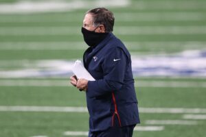 Bill Belichick gets defensive when asked about...