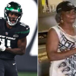 Jets' Denzel Mims' grandmother is his biggest,...