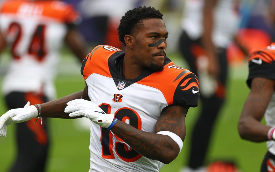 Bengals place Auden Tate, B.J. Finney on COVID-19...