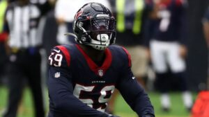Whitney Mercilus, Dylan Cole out for Texans due to...